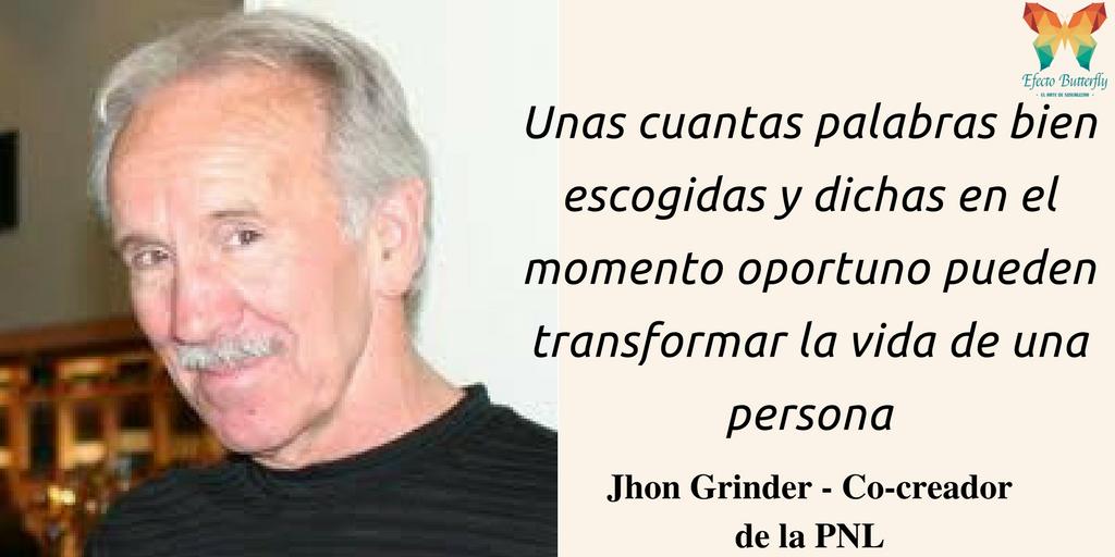 Biografía John Grinder
